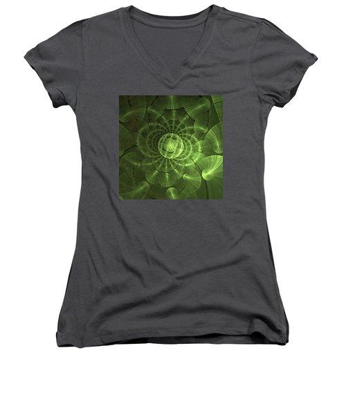 Quantum Plasma Signature Women's V-Neck T-Shirt