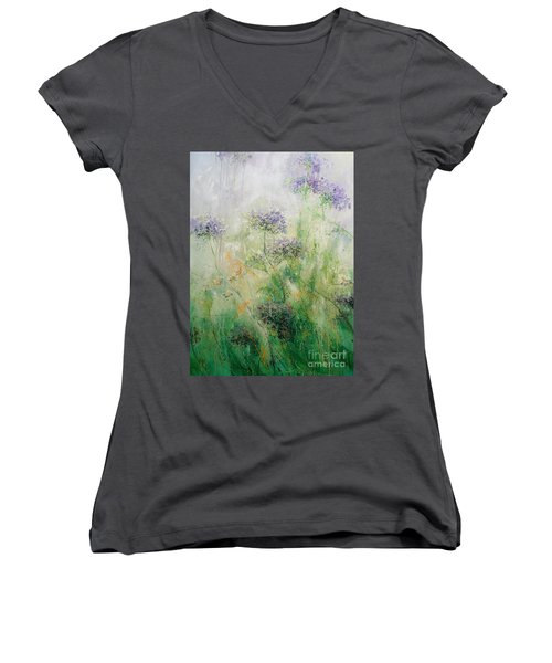 Queen Ann's Lace Women's V-Neck (Athletic Fit)