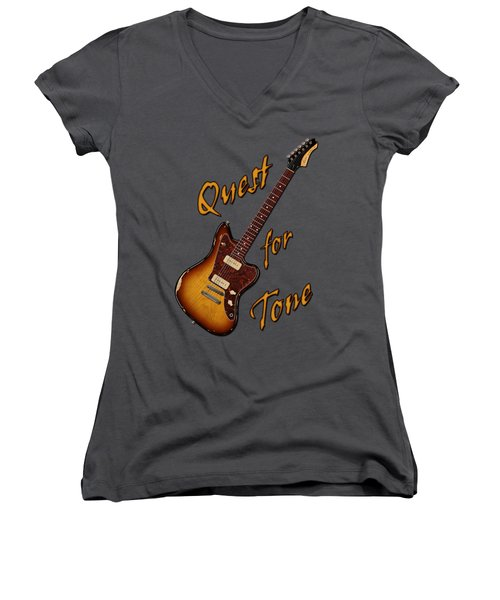 Quest For Tone Women's V-Neck