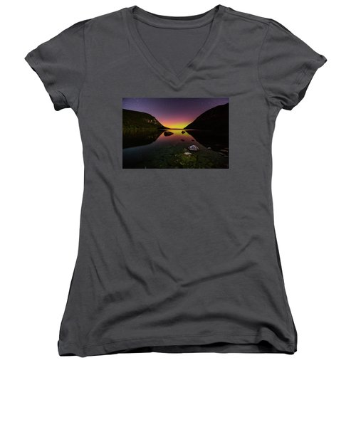 Quiet Reflection Women's V-Neck