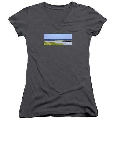 Quivira Refuge Women's V-Neck T-Shirt