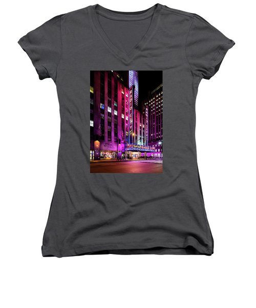 Radio City Music Hall Women's V-Neck