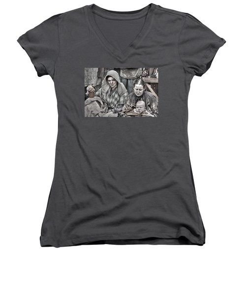 Ragged Victorians 8 Women's V-Neck T-Shirt