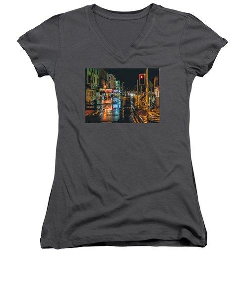 Rain Dogs Women's V-Neck T-Shirt