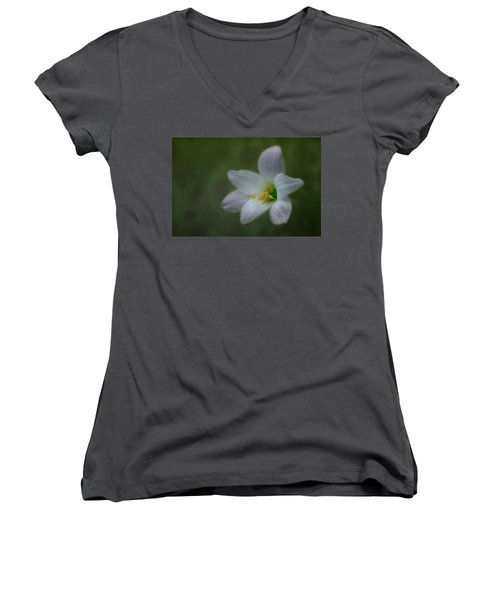 Rain Lily Women's V-Neck T-Shirt