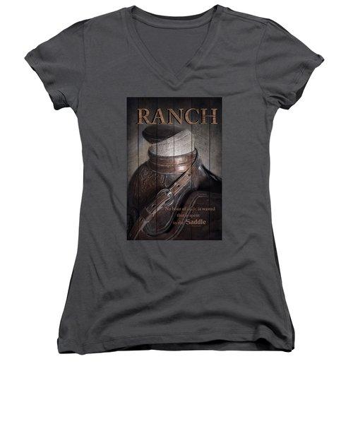 Ranch Women's V-Neck
