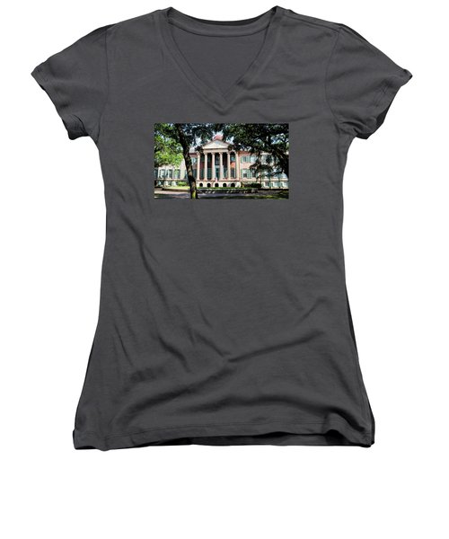 Randolph Hall Women's V-Neck (Athletic Fit)