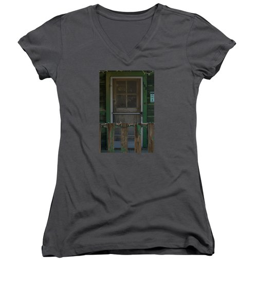 Randsburg Door No. 3 Women's V-Neck (Athletic Fit)
