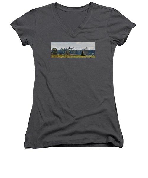Raptor Approach Women's V-Neck T-Shirt