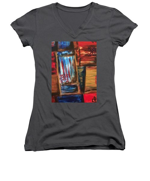 Rare Passage Women's V-Neck T-Shirt (Junior Cut)