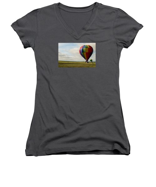 Raton Balloon Festival Women's V-Neck