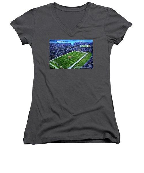 Ravens Stadium Women's V-Neck