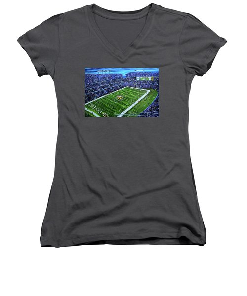 Ravens Stadium Women's V-Neck