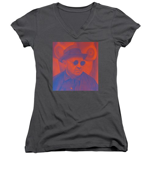 Raybanned Women's V-Neck (Athletic Fit)