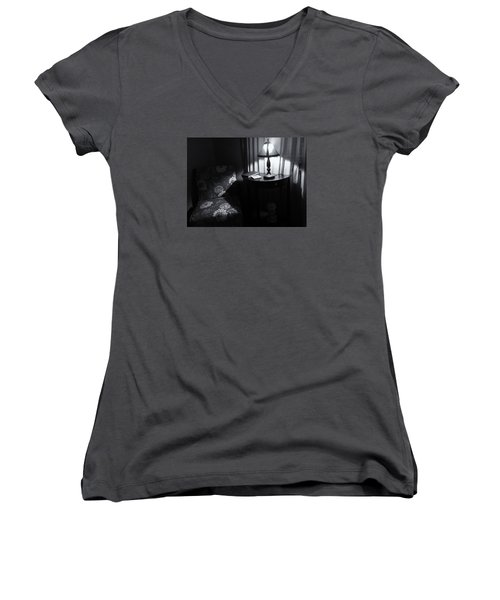 Reading Corner Women's V-Neck T-Shirt (Junior Cut)