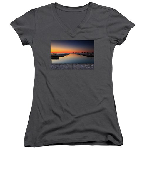 Ready To Dock Women's V-Neck (Athletic Fit)