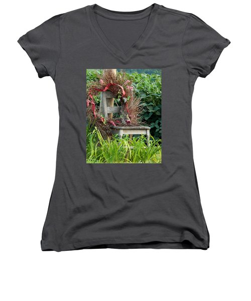 Recycled Welcome Women's V-Neck