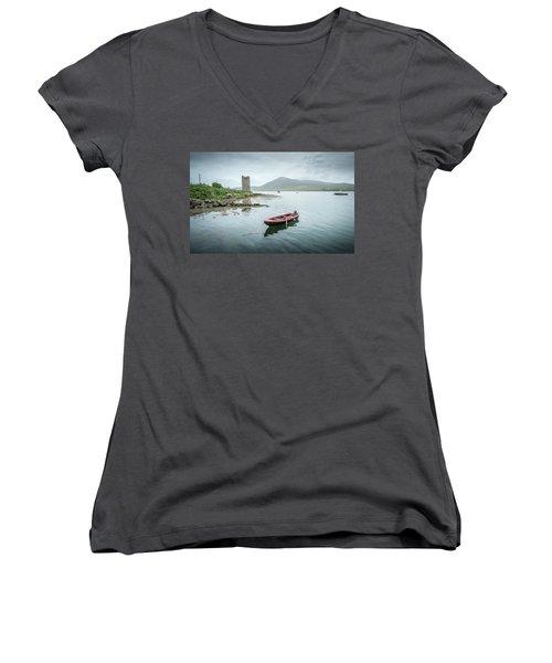 Red Boat Women's V-Neck T-Shirt