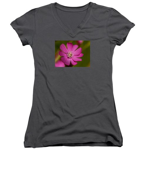 Red Campion Women's V-Neck