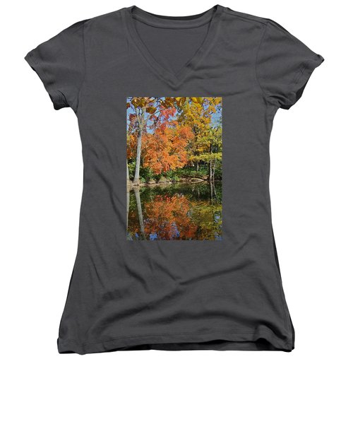 Red Cedar Banks Women's V-Neck (Athletic Fit)