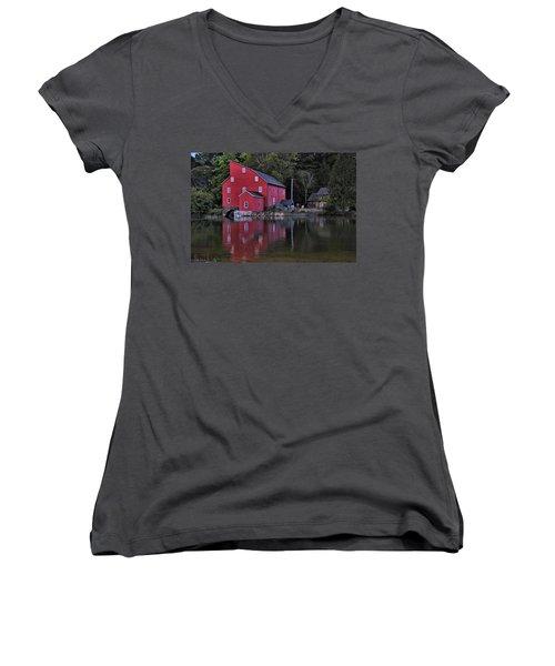 Red Mill Women's V-Neck T-Shirt