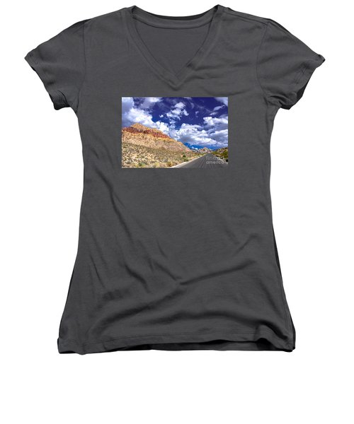 Red Rock Canyon Women's V-Neck