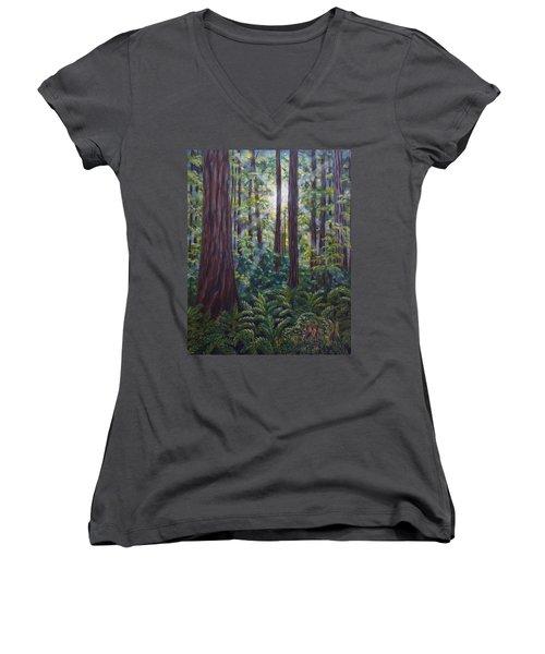 Redwoods Women's V-Neck T-Shirt