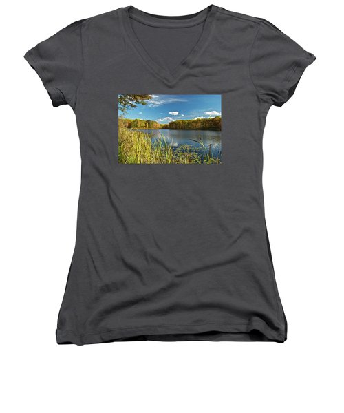 Reed Lake 0251 Women's V-Neck (Athletic Fit)