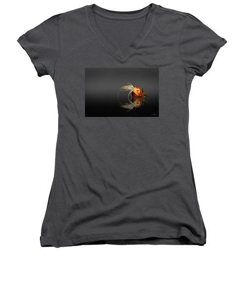 Reflected Onion No. 3 Women's V-Neck T-Shirt