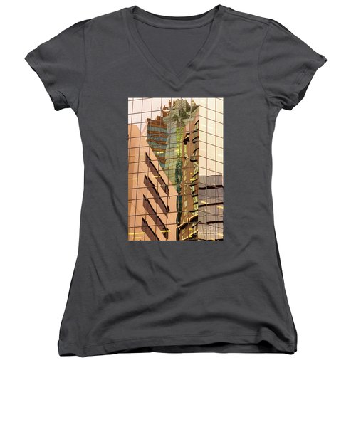 Reflecting Eagle 4 Women's V-Neck