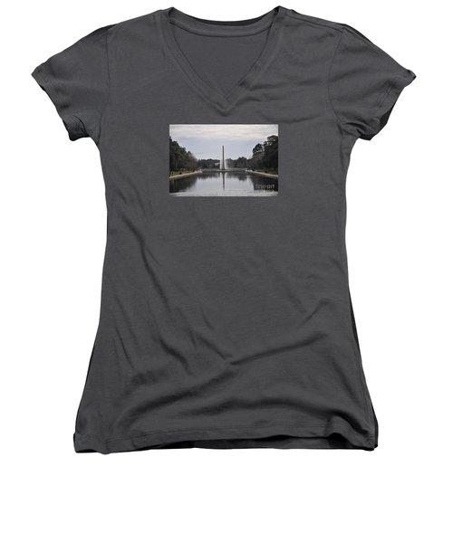 Reflection Pool Women's V-Neck T-Shirt