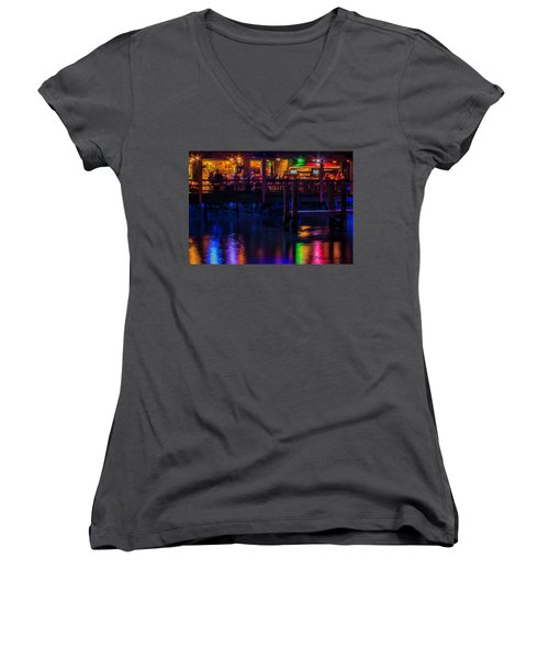 Reflections From Riverview Grill Women's V-Neck