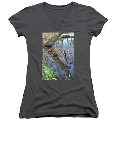 Reflections I Women's V-Neck (Athletic Fit)