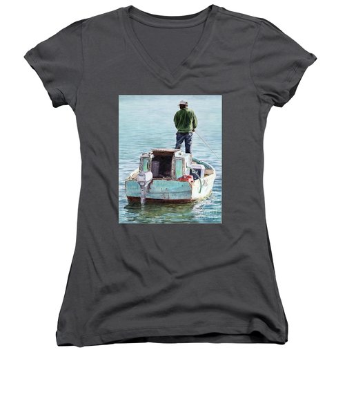 Reflections II Women's V-Neck (Athletic Fit)