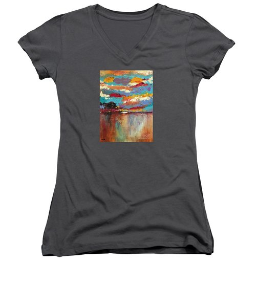 Reflections Women's V-Neck T-Shirt (Junior Cut)