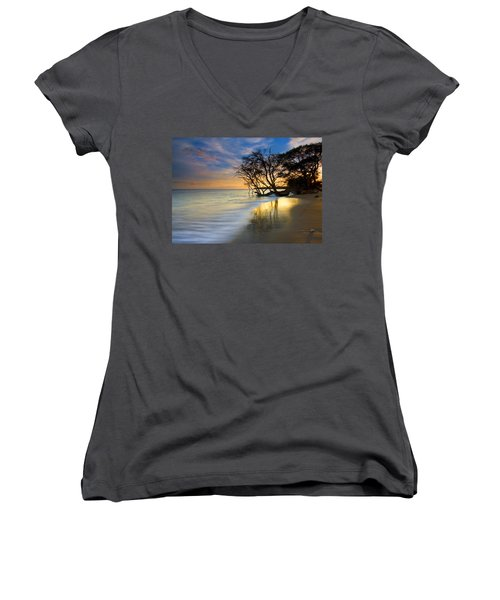 Reflections Of Paradise Women's V-Neck