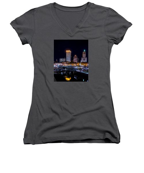 Reflections Of Providence Women's V-Neck