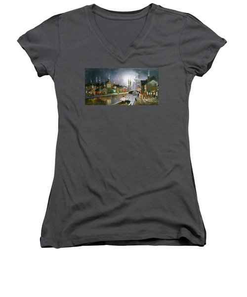 Reflections Of The Black Country Women's V-Neck