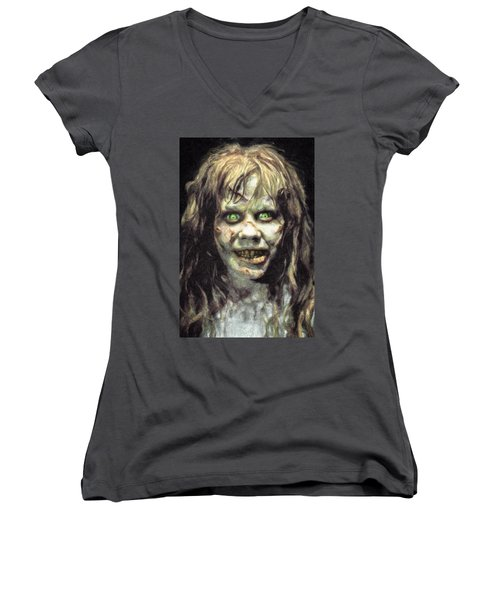 Regan Macneil Women's V-Neck T-Shirt