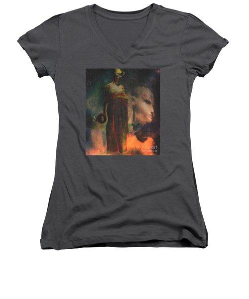 Reincarnation Women's V-Neck T-Shirt