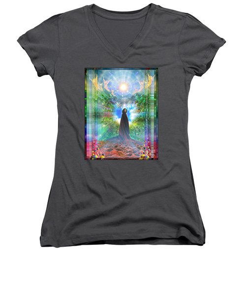 Rejoice-thy-young Women's V-Neck