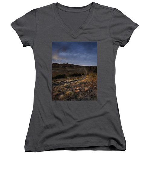 Reno Sunset Women's V-Neck