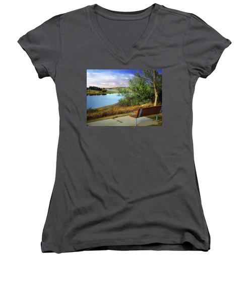 Rest Stop 2 Women's V-Neck T-Shirt