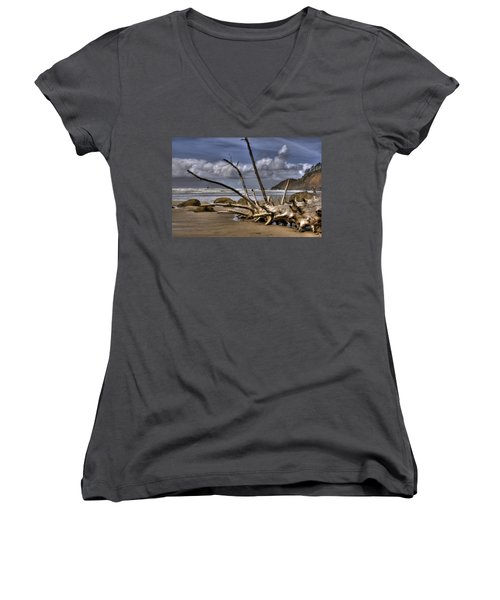 Resting Women's V-Neck T-Shirt