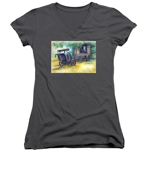 Retired At Last Women's V-Neck