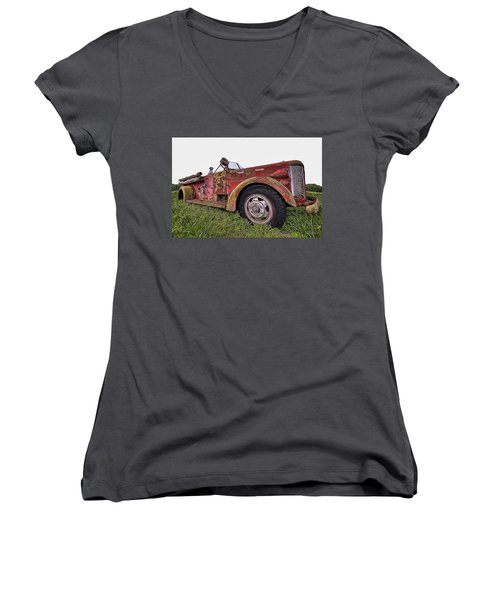 Retired Hero Women's V-Neck