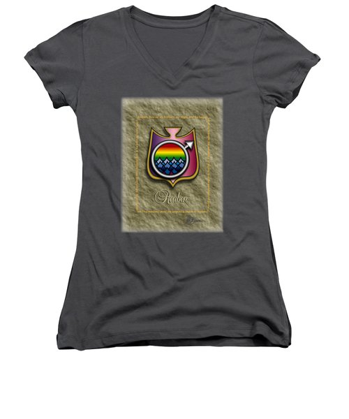 Reuben Shield Shirt Women's V-Neck (Athletic Fit)