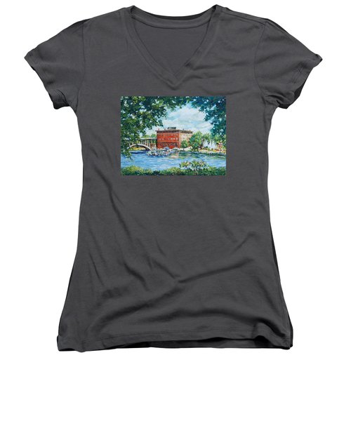 Rever's Marina Women's V-Neck T-Shirt