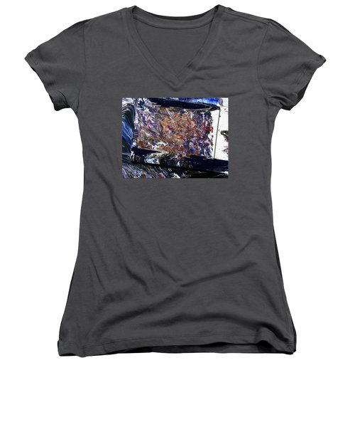 Revolution Women's V-Neck T-Shirt (Junior Cut) by Ralph White