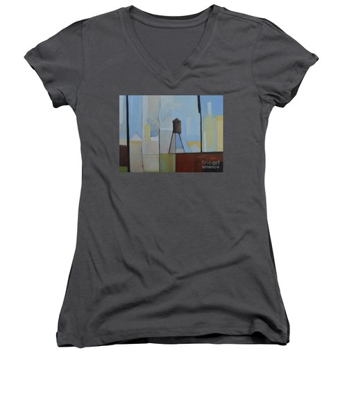 Ridgefield Women's V-Neck T-Shirt